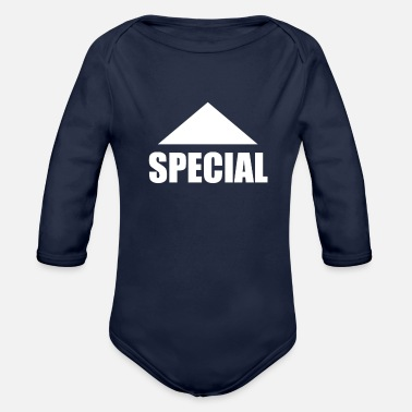 Special SPECIAL - Organic Long Sleeve Baby Bodysuit