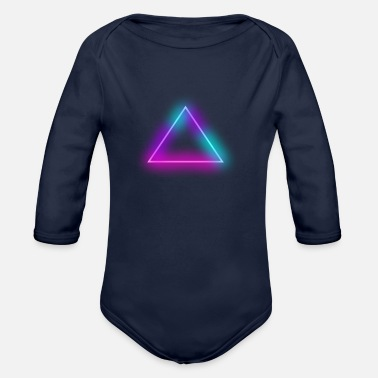 Triangle triangle - Organic Long-Sleeved Baby Bodysuit