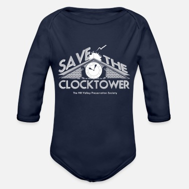 Saving SAVE THE - Organic Long-Sleeved Baby Bodysuit