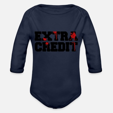 Credit Extra Credit - Organic Long-Sleeved Baby Bodysuit