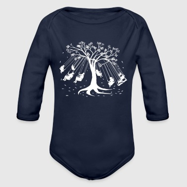 Amusing Amusement Tree - Organic Long Sleeve Baby Bodysuit