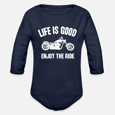 Motor Race motor race - Organic Long-Sleeved Baby Bodysuit