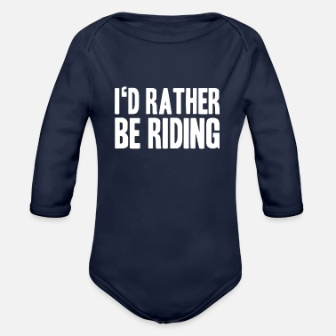 Stallion stallion - Organic Long-Sleeved Baby Bodysuit