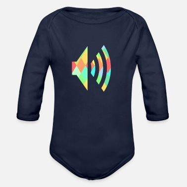 Audio audio - Organic Long-Sleeved Baby Bodysuit