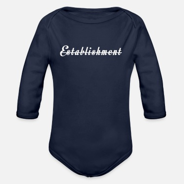 Established establishment Inced - Organic Long Sleeve Baby Bodysuit