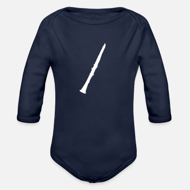 Clarinet Clarinet - Organic Long-Sleeved Baby Bodysuit