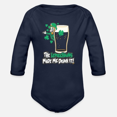 Leprechaun LEPRECHAUNS - Organic Long-Sleeved Baby Bodysuit