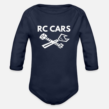 Rc rc cars - Organic Long-Sleeved Baby Bodysuit