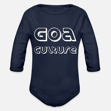 Goa goa culture - Organic Long-Sleeved Baby Bodysuit