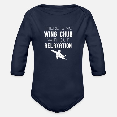 Wing Wing Chung Martial Arts - MMA Martial Art Wing Tsu - Organic Long-Sleeved Baby Bodysuit