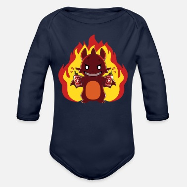 Heat Bring the Heat - Organic Long-Sleeved Baby Bodysuit