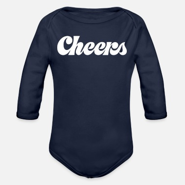 Cheers Cheers - Organic Long Sleeve Baby Bodysuit