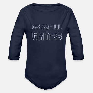 lifes moments - Organic Long-Sleeved Baby Bodysuit
