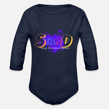 Stand Stand - Organic Long-Sleeved Baby Bodysuit