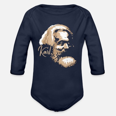 Communism Communism - Organic Long-Sleeved Baby Bodysuit