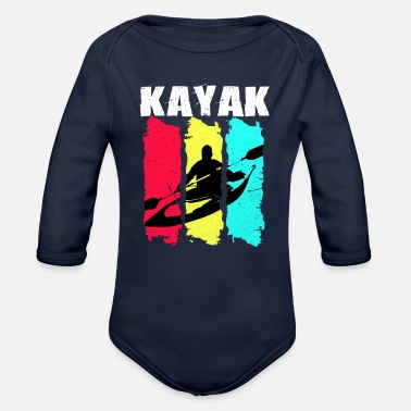 Kayak Kayak - Organic Long-Sleeved Baby Bodysuit