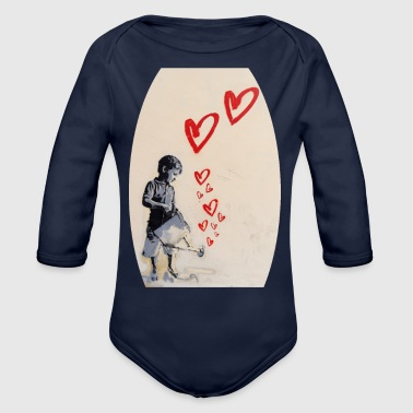 Cupido Isle_of_growing_love | by Isles of Shirts - Organic Long Sleeve Baby Bodysuit