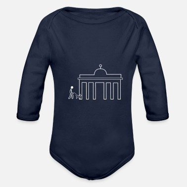 Gate Brandenburg Gate - Organic Long-Sleeved Baby Bodysuit