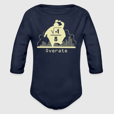 Overate - Organic Long Sleeve Baby Bodysuit