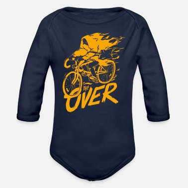 Over The Over - Organic Long Sleeve Baby Bodysuit