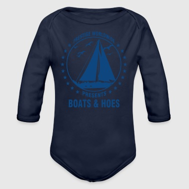 Funny Step brothers - Organic Long Sleeve Baby Bodysuit