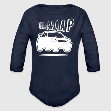Turbo Braaap - Organic Long Sleeve Baby Bodysuit
