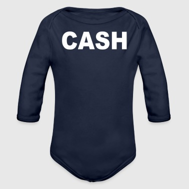 CASH - Organic Long Sleeve Baby Bodysuit