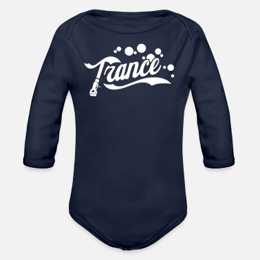 Trance Trance - Organic Long-Sleeved Baby Bodysuit