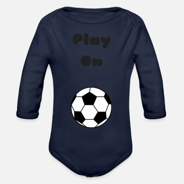 Playing Play On - Organic Long Sleeve Baby Bodysuit
