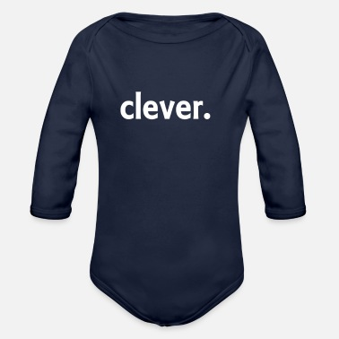 Clever clever - Organic Long-Sleeved Baby Bodysuit