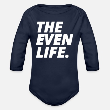 Evening THE EVEN LIFE - Organic Long-Sleeved Baby Bodysuit