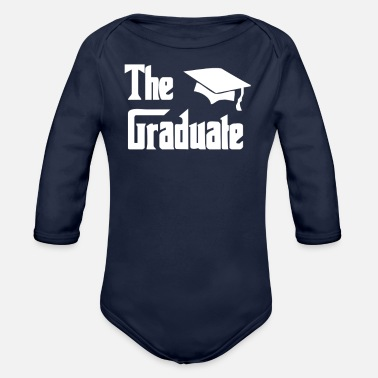 Graduations The Graduate Graduation - Organic Long-Sleeved Baby Bodysuit