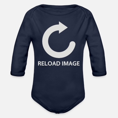 Image Reload image - Organic Long-Sleeved Baby Bodysuit
