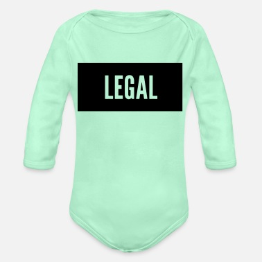 Legal - Organic Long-Sleeved Baby Bodysuit