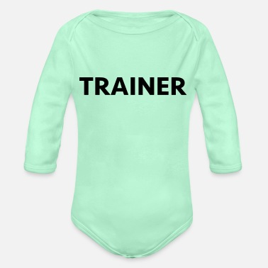 Trainers trainer - Organic Long-Sleeved Baby Bodysuit