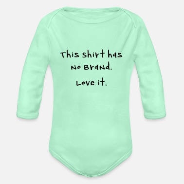 Brand no brand - Organic Long-Sleeved Baby Bodysuit