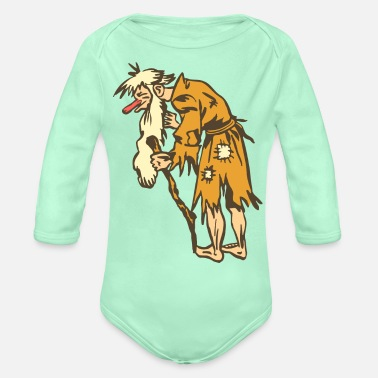 Beggar Old Beggar - Organic Long-Sleeved Baby Bodysuit