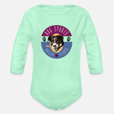 Dog Sports Dog Sports - Organic Long-Sleeved Baby Bodysuit