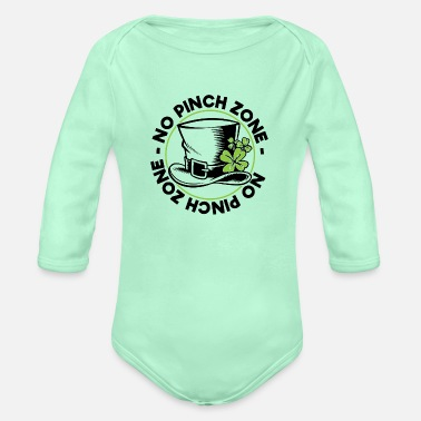Zone NO PINCH ZONE NO PINCH ZONE - Organic Long-Sleeved Baby Bodysuit