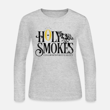 Community Holy Smokes - Women's Jersey Longsleeve Shirt