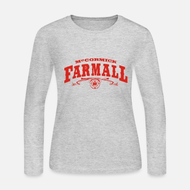 Farmall Western International Harvester IH - Women's Long Sleeve Jersey T-Shirt