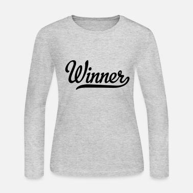 Winner winner - Women's Long Sleeve Jersey T-Shirt
