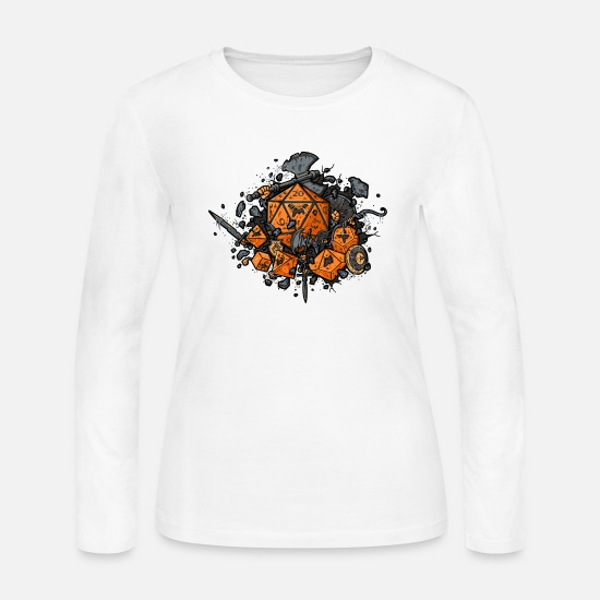 Game Long-Sleeve Shirts - RPG United - Women's Jersey Longsleeve Shirt white