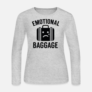 women with emotional baggage