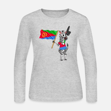 Eritrea An Eritrean Zebra - Women's Long Sleeve Jersey T-Shirt