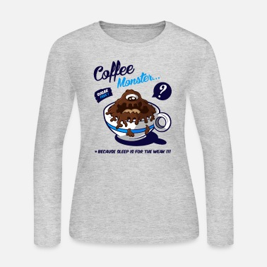 Monster Coffee Monster - Women's Jersey Longsleeve Shirt