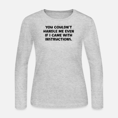 Instructions Instructions - Women's Jersey Longsleeve Shirt