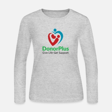 Living Kidney Donor DonorPlus - supporting living kidney donors - Women's Jersey Longsleeve Shirt