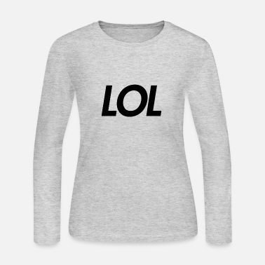 lol - Women's Jersey Longsleeve Shirt