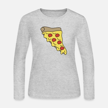 Fast Food Melty Pizza - Women's Jersey Longsleeve Shirt
